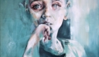 ''AGNES'' oil & acrylic on canvas 1.50m x 1.10m