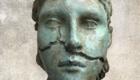 Athina head, bronze, 2015 , 30X15X20Misja Kristoffer Rasmussen